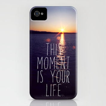 this moment is your life iPhone Case by Sylvia Cook Photography | Society6