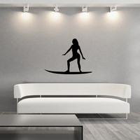 Surfer Girl Style B Vinyl Wall Decal 22430