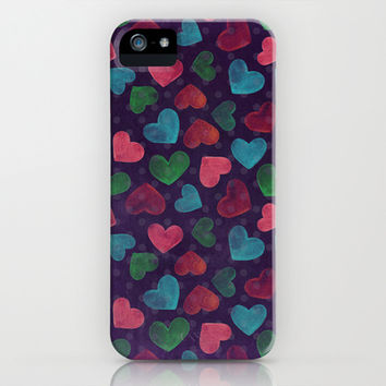 Valentine's iPhone & iPod Case by Louise Machado