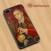 Boy With Apple Grand Budapest Hotel custom case for all phone case