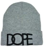 Fashion Dope Beanies Hats Caps Wool Winter Knitted Caps and Hats For Man and Women