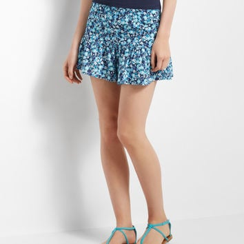 Ditsy Floral Flounce Shorts