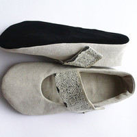 CUSTOM ORDER Ballet flats women shoes handmade by granatina