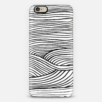 wind black and white iPhone 6 case by Sandra Arduini | Casetify