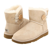 UGG Mini Bailey Button Black - Zappos.com Free Shipping BOTH Ways