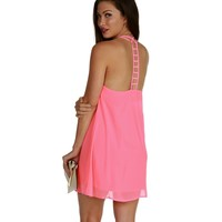 Neon Pink Easy Breezy Tunic