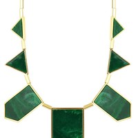 House of Harlow 1960 Jewelry Classic Station Necklace in Resin