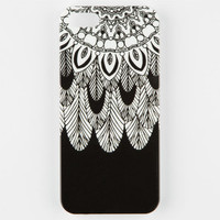 Tribal Feather Mandala Iphone 5/5S Case Black/White One Size For Women 25179012501
