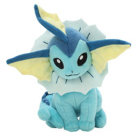 "Pokemon XY Vaporeon 8"" Plush"
