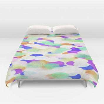 COLOR WIPE Duvet Cover by Robleedesigns