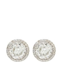 peter Byworth Diamond Studs Clear