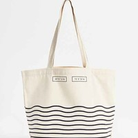 United By Blue Day Tote Bag- White One