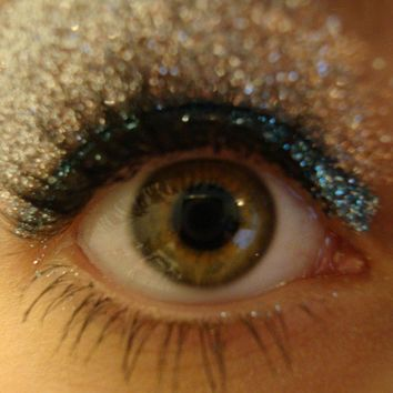 Teal Glitter by CALLACosmetics on Etsy