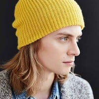 Brushed Beanie- Yellow One