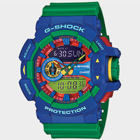 G-Shock Ga400-2A Watch Blue Combo One Size For Men 25415024901