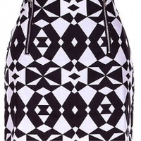 The Black & White Night Skirt