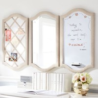 Double Arch Study Wall Boards