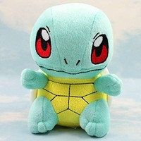 Pokemon Squirtle/Zenigame Rare Soft Plush Toy Doll 6.5""