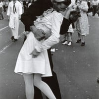 Kissing on VJ Day Prints at AllPosters.com