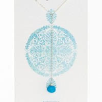 Dogeared 'Healing Gems' Boxed Cherry Quartz Y-Necklace (Nordstrom Exclusive) | Nordstrom