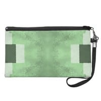 Abstract in Shades of Green Wristlets