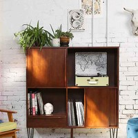 Assembly Home Media Console- Brown One