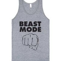 Athletic Grey Tank | Crossfit Workout Shirts