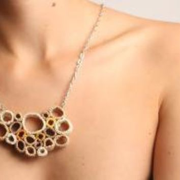 Sand Necklace by Fnine on Etsy
