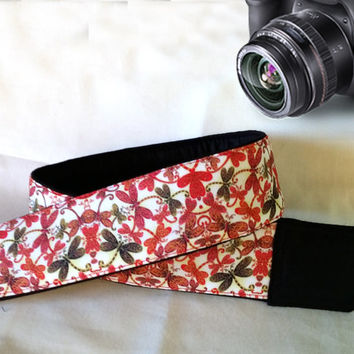 Butterflies  Camera Strap. Colorful  Camera Strap,  Camera Accessories