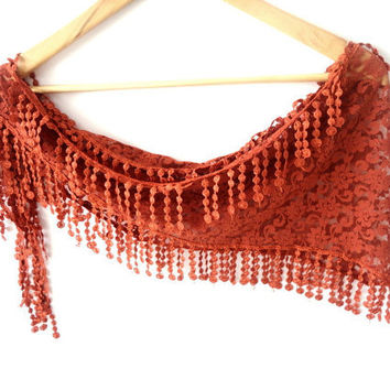 women scarf, New bridal wedding lace scarf with lace fabric, authentic, romantic ,elegant, shawl neckwarmer cowl for her,  Mothers day gifts
