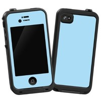 """Baby Blue """"Protective Decal Skin"""" for LifeProof iPhone 4/4s Case"""