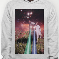 Mega Space Cat Rising Hoody by Hayley Sargent   Society6