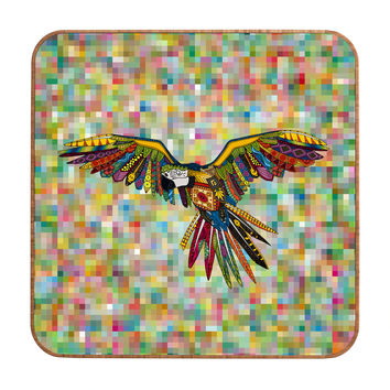Sharon Turner Harlequin Parrot Wall Art