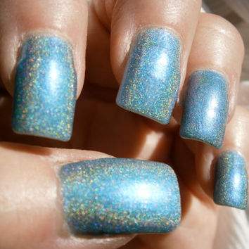 Rive Gauche Nail Polish  Teal Duo Chrome by WonderBeautyProducts