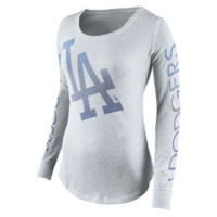 Nike Fade Long-Sleeve (MLB Dodgers) Women's Shirt