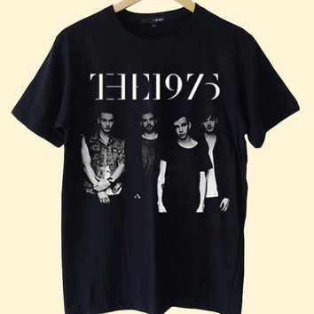 NEW The 1975 clothing T Shirt Mens and T Shirt Girls customized