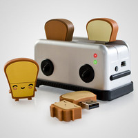USB Toaster Hub and Drives at Firebox.com