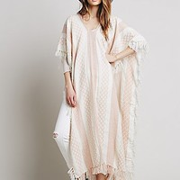 Free People Womens Weave Oversized Convertible Scarf