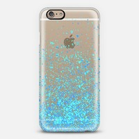 blue sparkles iPhone 6 case by Marianna Tankelevich | Casetify