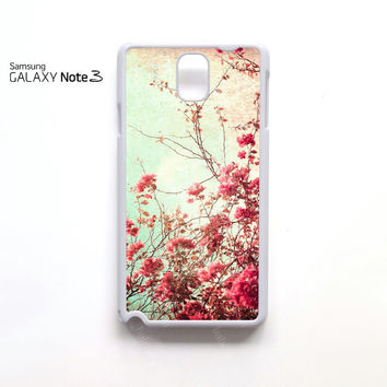 flower cherry samsung galaxy note 1 N7000, Note 2 N7100, Note 3 N9000 case