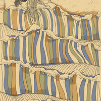 Ocean of love Stretched Canvas by Chalermphol Harnchakkham | Society6