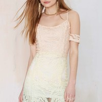 Total Fader Lace Dress
