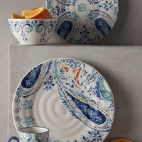 Swirled Symmetry Dinnerware by Anthropologie Blue Motif Dinner Dinnerware