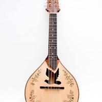 Dove sound hole Mandolin by celentanowoodworks on Etsy