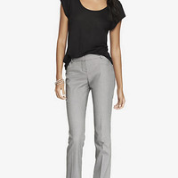 BIRDSEYE BARELY BOOT COLUMNIST PANT from EXPRESS