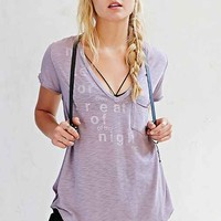 Truly Madly Deeply Modal Slub Pocket Tee- Mauve