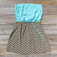 Sow & Seed Dress in Sea