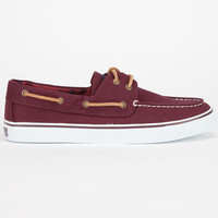 Sperry Top-Sider Bahama Womens Boat Shoes Vineyard Wine  In Sizes