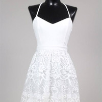 Take Me To Church Dress- White