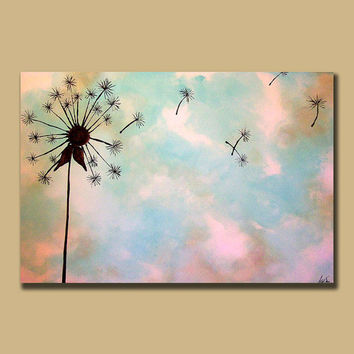 Custom Large Painting Very Large Minimal by ContemporaryEarthArt